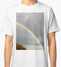 DOUBLE RAINBOW, PHOTOGRAPHY LANDSCAPE Classic T-Shirt
