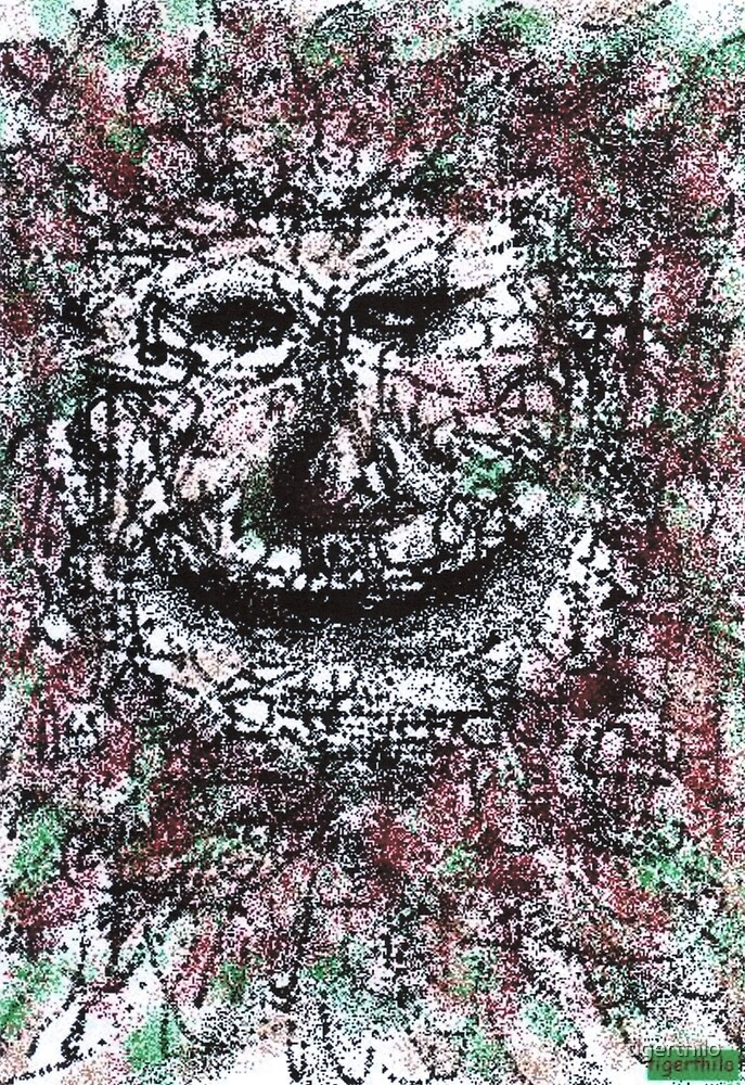 1912 - An Old Earth Father Smiling Amused von tigerthilo