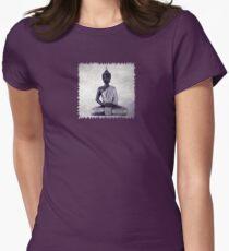 Buddha - JUSTART © Womens Fitted T-Shirt