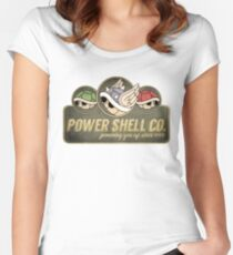 Power Shell Co. Women's Fitted Scoop T-Shirt