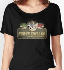 Power Shell Co. Women's Relaxed Fit T-Shirt
