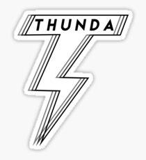 T H U N D A Sticker