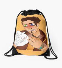 GO TO THE MOON - HANDSOME JACK BORDERLANDS Drawstring Bag