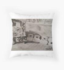 Handmade & Homegrown Throw Pillow