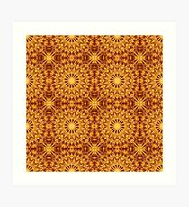 Ethnic ornament Art Print
