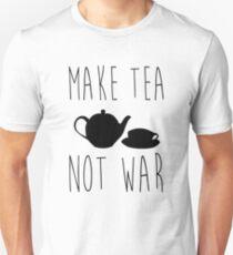 Tea Not War T-Shirt