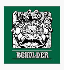Beholder : Inspired by Dungeons & Dragons Photographic Print