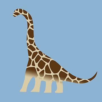 Brachiosaurus-Giraffe von jezkemp