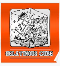 Gelatinous Cube : Inspired by Dungeons & Dragons Poster