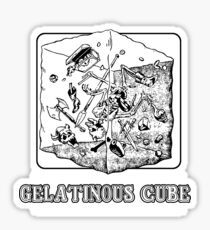 Gelatinous Cube : Inspired by Dungeons & Dragons Sticker