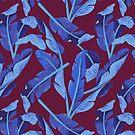 Tropical '17 - Blue Bird Of Paradise [Banana Leaves] by GalaxyEyes