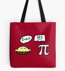 Pie and Pi Tote Bag