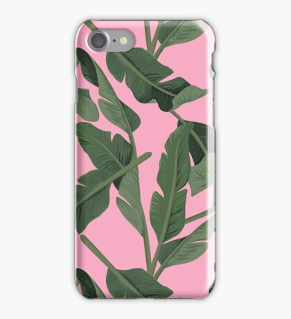 Tropical '17 - Forest [Banana Leaves] iPhone Case/Skin
