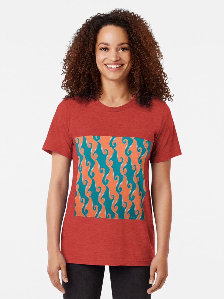 Alternate view of Step & Repeat, No. 2 Tri-blend T-Shirt