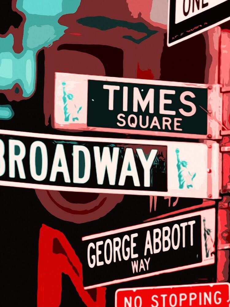 Broadway-Straße - New York City von ErianAndre