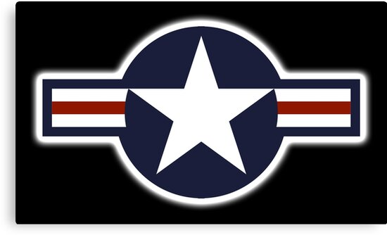 Air Force American Usaf Roundel United States Air Force