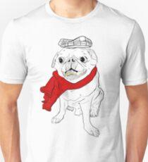 PUG LIFE // O.G. (B&W with gold teeth) T-Shirt
