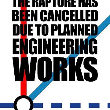 Die Entrückung wurde aufgrund geplanter Ingenieurarbeiten annulliert von jezkemp
