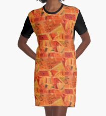 An Acoustic Perspective Graphic T-Shirt Dress