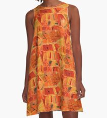 An Acoustic Perspective A-Line Dress