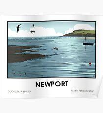 Newport, Pembrokeshire Poster