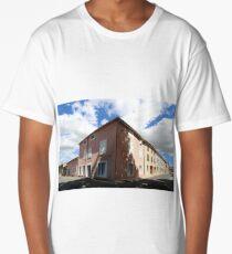 Standing at the corner. Long T-Shirt