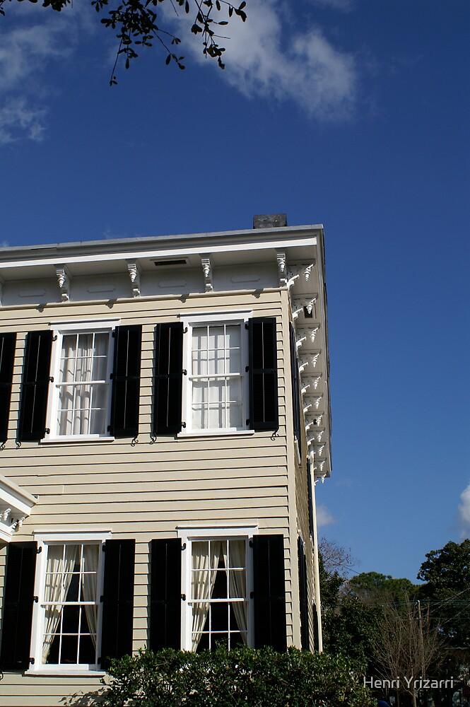 Historic Home Savannah by Henri Irizarri