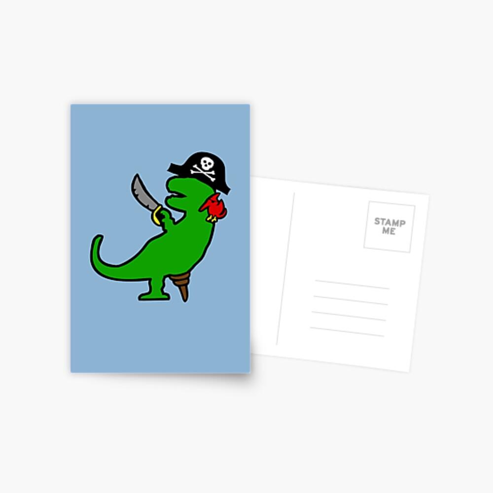 Dinosaurio Pirata - T-Rex Postal