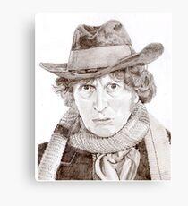 Tom Baker Canvas Print