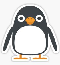 Penguin Igloo Ice Frozen Polar Bear Arctic Zoo Sticker