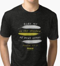 Wings - Psalms 17.8 Tri-blend T-Shirt