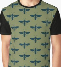 Insect Pattern Graphic T-Shirt