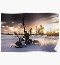 Snowmobile  Poster