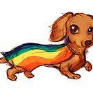 Pride Pup by alulawings