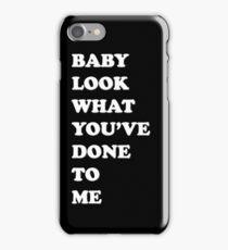 One Direction Stockholm Syndrome / black iPhone Case/Skin