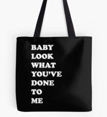 One Direction Stockholm Syndrome / black Tote Bag