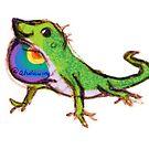 Pride Lizard by alulawings
