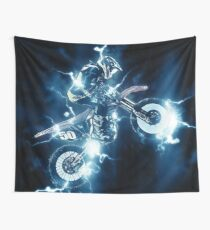Motocross  Wall Tapestry