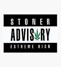 Stoner Advisory Photographic Print