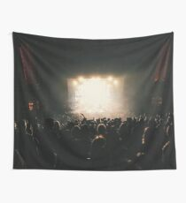 Rock Concert Wall Tapestry