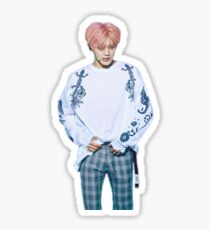 """Plaid"", Taeyong Sticker Sticker"