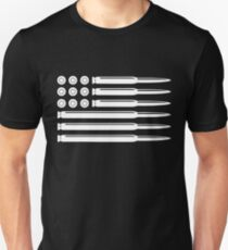 BULLETS USA FLAG T-Shirt