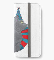 Party Time Cat iPhone Wallet/Case/Skin