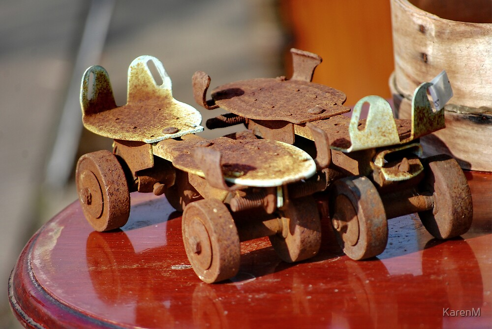 Rusty Rollers by KarenM