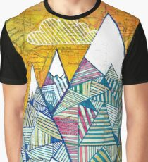 Maps and Mountains Graphic T-Shirt