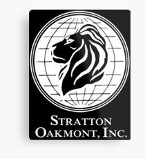 Stratton & Oakmont Inc. Metal Print