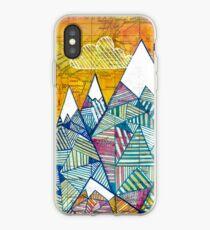 Karten und Berge iPhone-Hülle & Cover