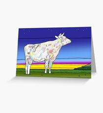 Midwestern Pastoral Greeting Card