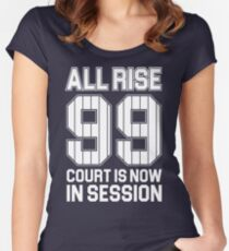 Aaron Judge - NY Yankees Women's Fitted Scoop T-Shirt
