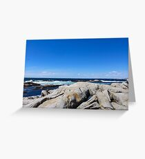 Nova Scotia Ocean Beach Greeting Card